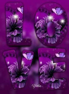 BUTTERFLIES Love Images, Love Photos, Love Pictures, Purple Love, All Things Purple, Purple Sunset, Love Wallpaper, Wallpaper Backgrounds, Emoji Love