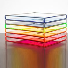 Acrylic Soiree tray by Alexandra von Furstenberg