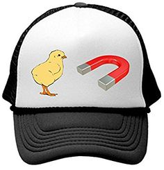 73f583532e975 Amazon.com  CHICK MAGNET - funny frat party guido Mesh Trucker Cap Hat
