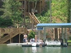 """Night Sky"" Private Dock W/ Electric, 92"" Theatre, Hot Tub  LaFollette, Tennessee Vacation Rental by Owner Listing 235398"