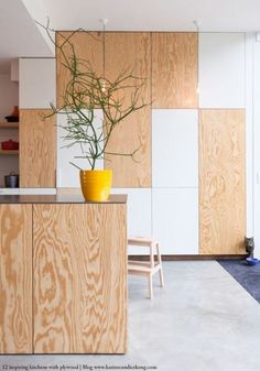 plywood+can+be+beautiful+and+sophisticated+|+@meccinteriors+|+design+bites