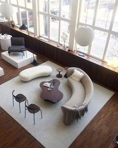 Small Accent Chairs For Bedroom Beautiful Interior Design, Office Interior Design, Contemporary Interior, Interior Paint, Living Room Modern, Living Room Designs, Living Room Decor, Luxury Homes Interior, Interior Architecture