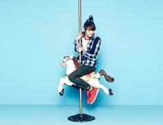 Its new fall campaign once againallows JYJ members Jaejoong, Junsu, and Yoochun