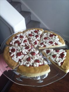 Pizza Sugar Cookies