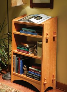 Mission Bookstand - Popular Woodworking Magazine