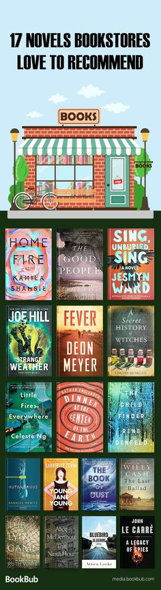 Check out our book list recommended by bookstores, books worth reading in 2018, including popular fiction, books for 20 somethings, books for women, and more.