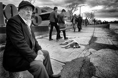 Street - Istanbul  #streetphotography #blackandwhitephotograpy #monochromephotography - Nurcan Azaz - Google+