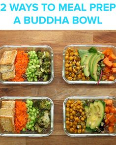 Buddha Bowl Meal Prep by Tasty