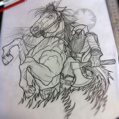 Headless Horseman - Dave Olteanu Tattooer at STR in Australia  http://www.facebook.com/daveolteanu