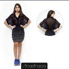 Look Anasthacia acompanha Semana de Moda de Paris apresentada nas passarelas.