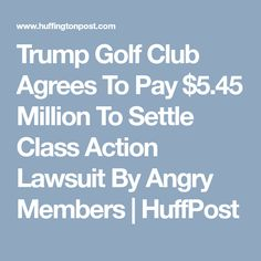 Trump has been sued more than times. Unintended Consequences, Set You Free, Golf Clubs, Lunch, Fire, Smoke, Eat Lunch, Smoking, Lunches