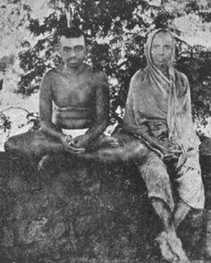 Ramana Maharshi With his mother