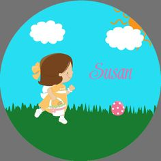 Personalized Plate Easter Egg Hunt Melamine by craftiechicks, $20.00
