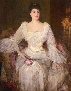 Portrait of Lady Lyle  Sir John Lavery, R.A.