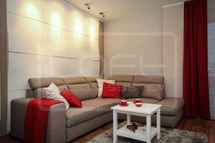 Model 18 - salon/ pokój dzienny.  Kliknij zdjęcie by uzyskać więcej informacji lub aby przejść na naszą stronę internetową.