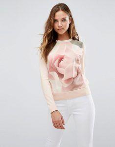 Jersey estampado rosa Image