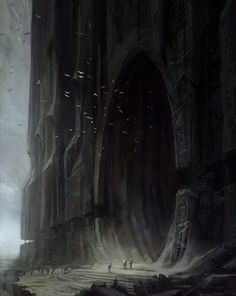 30 Ideas For Fantasy Landscape Painting Character Design Dark Fantasy, Sci Fi Fantasy, Fantasy World, Final Fantasy, Art And Illustration, Illustration Landscape, Fantasy Artwork, Fantasy Concept Art, Fantasy Kunst