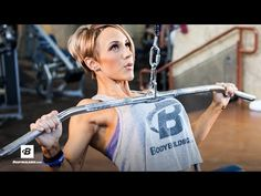 IFBB Pro Jessie Hilgenberg's Strong Back Workout - YouTube