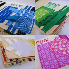 Colors Cloth Book Children Quiet Fabric Book by TulipPetalsCraft, $35.00