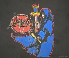 Slayer Vintage Concert Shirt 90's Non Tour T Spill The Blood 1990 Promo | eBay