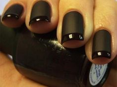 Matte black nails are definitely a must-try this season! Be a part of this season's up-to-date nail trends with nail care from Duane Reade.