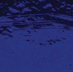 Bullseye Deep Royal Blue Transparent Double Rolled - 90 COE