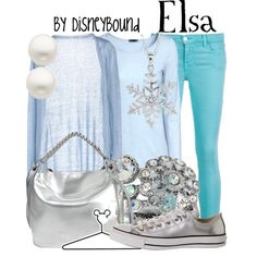 """Elsa"" by leslieakay on Polyvore"
