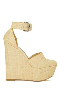 Shoe Cult Palmilla Wedge - Beige