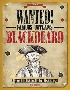 Edward Teach, otherwise known as the pirate Blackbeard, was a terror of the seas in the 1700s. Merchant ships had little choice but to surrender to his 40-cannon Queen Annes Revenge. At one point, Teach accepted a pardon but couldnt retire from piracy for good. This adventurous volume takes readers into the background of the famous figure, explains the origins of his striking monikor, and describes the bloody skirmish that ended his life.