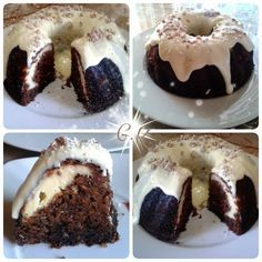 Κορίτσια σηκωθείτε από καναπέδες, ντιβάνια, κρεβάτια τώρα! Σας έχω  σούπερ γλυκάκι !!φτιάξτε το!!θα μοσχομυρίσει το σπίτι σας Χριστούγενν... Greek Desserts, Greek Recipes, Cyprus Food, New Year's Cake, Brownie Cake, Cheesecake Brownies, Crazy Cakes, Christmas Cupcakes, Carrot Cake