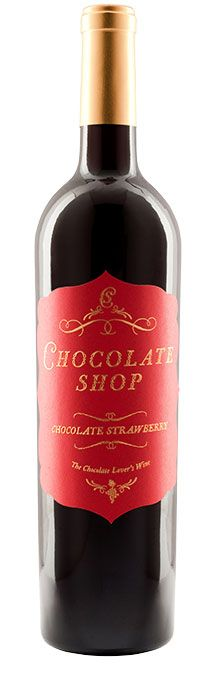 """Chocolate Shop, the ultimate """"Chocolate Lover's Wine"""", takes the perfect pairing - chocolate and wine - to the next level, marrying fine wine and rich, velvety chocolate to create an indulgent wine experience like no other."""