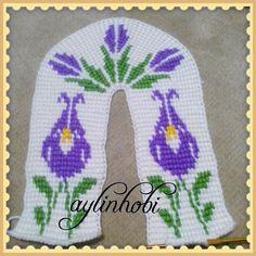 osmanlı lalesi tunus işi patik tasarim bana ait - Patik-Çorap Etkinlikleri