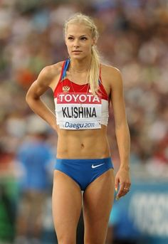 Darya Klishina, Track and Field