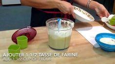 Recette Tupperware dessert de Pain aux bananes / Banana bread