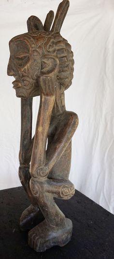 Catawiki online auction house: African ancestor sculpture - LUBA - D.R Congo, Katanga region.