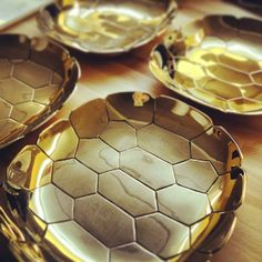 Turtle Shell Brass Tray, http://www.highstreetmarket.com/collections/home-decor/products/turtle-shell-brass-tray