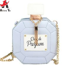 Attra-Yo! 2016 new women bag clutch chain bags perfume bottle women messenger bags purse evening bag high quality pouch LS4386ay(China (Mainland))