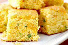 cheddar jalapeno cornbread recipe up close