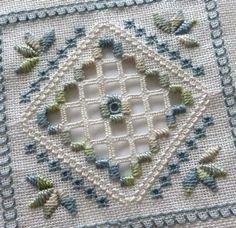 "rurinacci: ""(via Embroidery Hardanger, Antep İşi, Reticello, Schwalm, White Work, Cut Work… / Hardanger) """