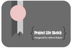 The ScrapRoom Blog: Project Life Sketches