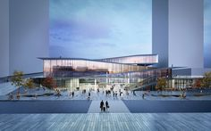 Saint-Denis Pleyel Emblematic Train Station(on going) | kengo kuma and associates