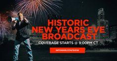 Alex Jones Hosts Historic New Year's Eve Transmission