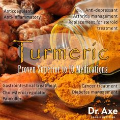 The healing power of turmeric.