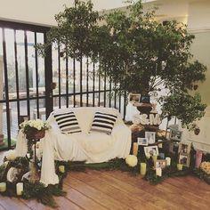 My wedding party. Jan.18th @エレガンテヴィータ #weddingparty#wedding#tree#happy#高砂#エレガンテヴィータ