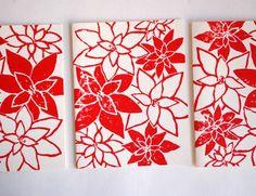 Katherine Watson - block printed cards