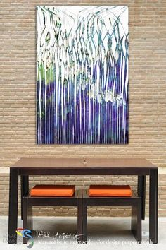 Room Art Inspiration. Christian Art-Mark 14:32. The Prayer in the Garden III. Inspirational abstract art by Mark Lawrence. Original limited edition signed canvas & paper giclees.