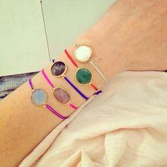 Semiprecious Stone Bracelet