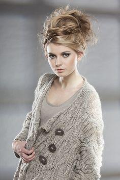 Ravelry: Gruainne Jacket pattern by Di Gilpin