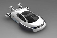The Volkswagen Aqua Curvy Hovercraft is an All-Pupose Vehicle trendhunter.com
