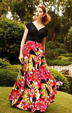 LONG DRESSES - ANIKO LONG EVENING DRESS